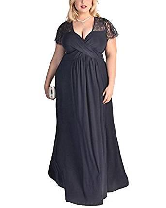 Vestido de cóctel largo