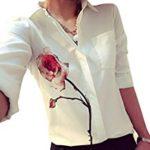 blusa elegante estampada