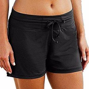 Pantalón corto mujer Negro