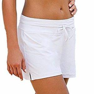 Pantalón corto mujer Blanco