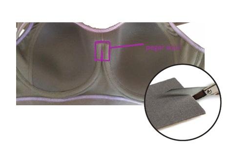 Truco para evitar marcas de un sujetador con aros