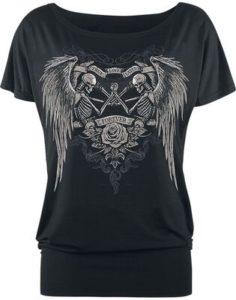 camiseta gotica